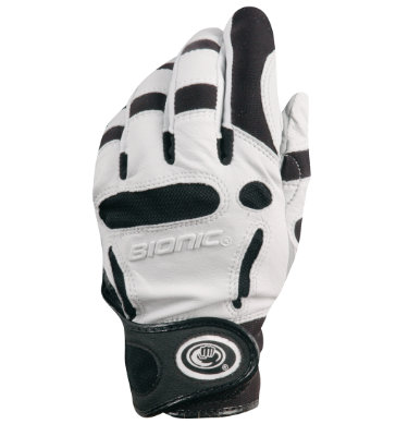 Bionic Men's Silver Series Golf Glove - Pair (Disc Style BIONIC SILVERM)