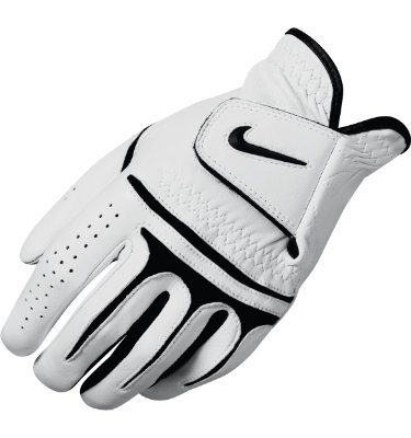 Nike Men's Dri-FIT Tour Golf Glove - White