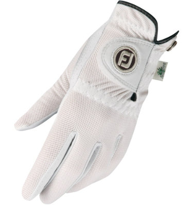 FootJoy Women's StaCooler Golf Glove - White