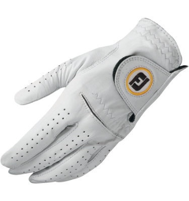FootJoy Men's StaSof Golf Glove - White(Disc Style 66716)