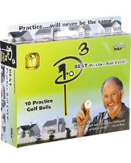 Almost Golf P3 Practice Ball 10 Pack