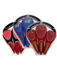 NCAA 3 Pack Zippered Headcovers