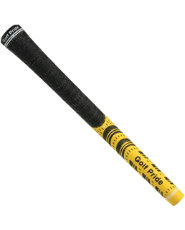 Golf Pride® New Decade® MultiCompound Standard Grip - Black/Yellow