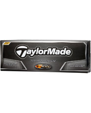TaylorMade TP Black Golf Balls - 12 pack