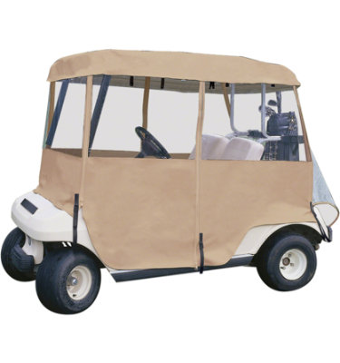 Classic Accessories Deluxe 4-Sided Golf Car Enclosure