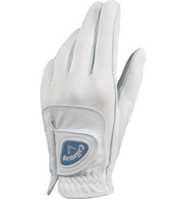 Callaway Women's Gem Series Golf Glove - White (Disc Style 53080)