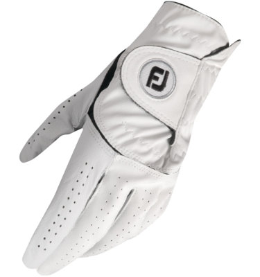 FootJoy Men's Alliance Golf Glove - White (Disc Style ALLIANCE MLHZ)