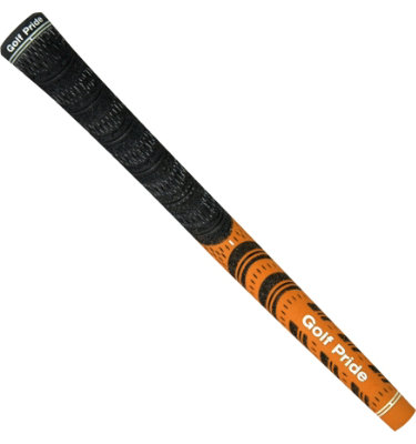 Golf Pride New Decade Multicompound Standard Grip - Black/Orange