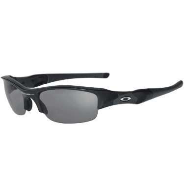 Oakley FLACK JACKET Sunglasses - Jet Black/Black Iridium