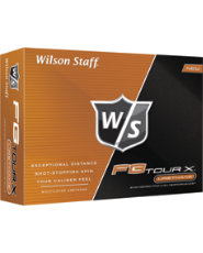 Wilson Staff FG Tour X Golf Balls - 12 pack (Personalized)
