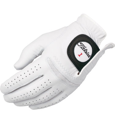 Titleist Men's Perma-Soft Golf Glove - White