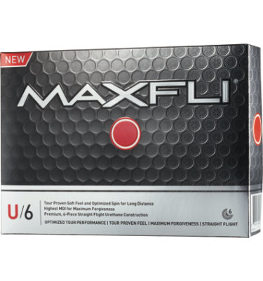 Maxfli U/6 Golf Balls - 12 pack (Personalized)