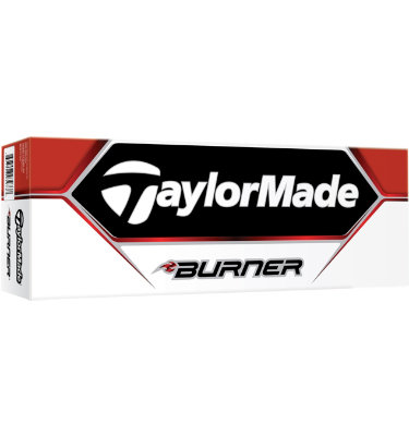 TaylorMade Burner Golf Balls - 12 pack (Personalized)