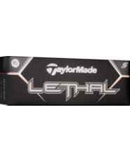 TaylorMade Lethal Golf Balls - 12 pack (Personalized)