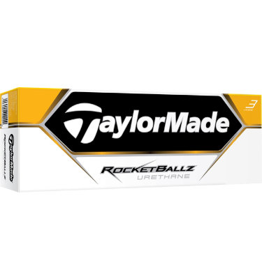 TaylorMade RocketBallz Urethane Golf Balls - 12 pack (Personalized)