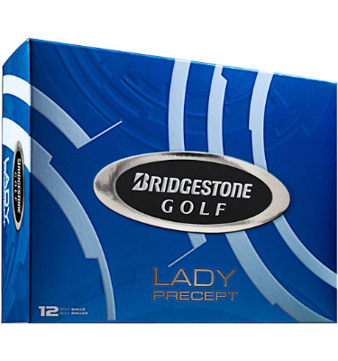 Bridgestone Lady Precept Golf Balls - 12 pack (Personalized)