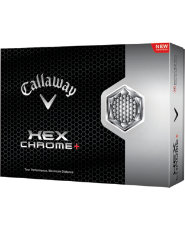 Callaway HEX Chrome+ Golf Balls - 12 Pack (Personalized)