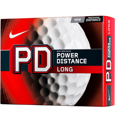 Nike PD Long Golf Balls - 12 pack (Personalized)