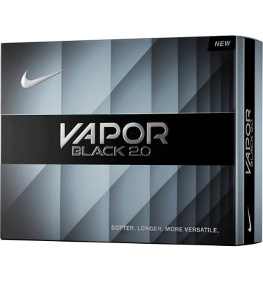 Nike Vapor Black 2.0 Golf Balls - 12 pack (Personalized)