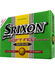 Srixon Soft Feel Tour Yellow Golf Balls - 12 pack (Personalized)