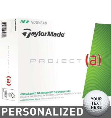 TaylorMade Project (a) Golf Balls - 12 pack (Personalized)