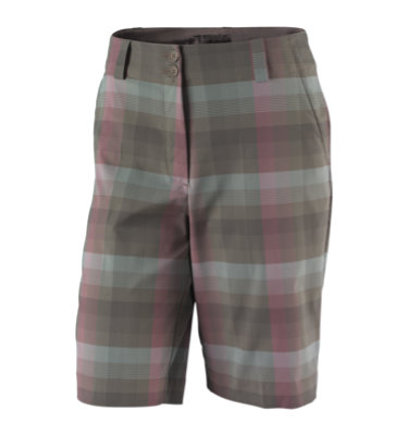 Nike Women's Plaid Long Short