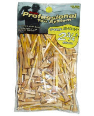 "Pride Professional PTS Natural 2 3/4"" Tees - 100 Pack"