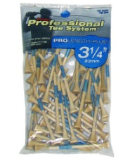 "Pride Professional PTS Natural 3 1/4"" Tees - 75 count"