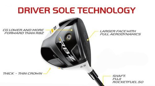 TaylorMade RBZ Stage 2 Bonded Driver