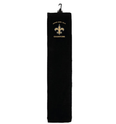 McArthur New Orleans Saints Super Bowl XLIV Champions Trophy Towel
