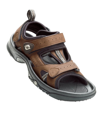 FootJoy Men's Golf Sandals - Brown