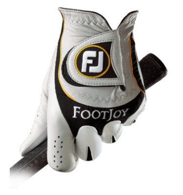 FootJoy Men's Sciflex Golf Glove - White/ Black