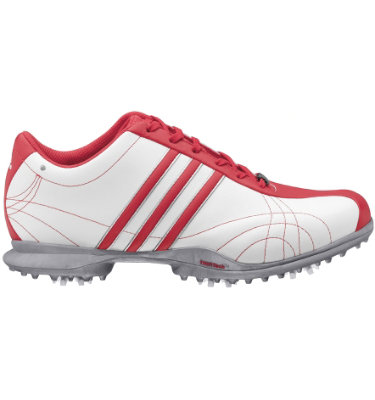 adidas Women's Signature Natalie Golf Shoe - White/ Pink