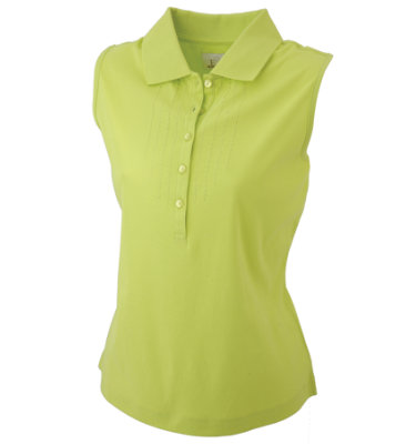 EP Pro Women's Sleeveless Polo with Extended Placket