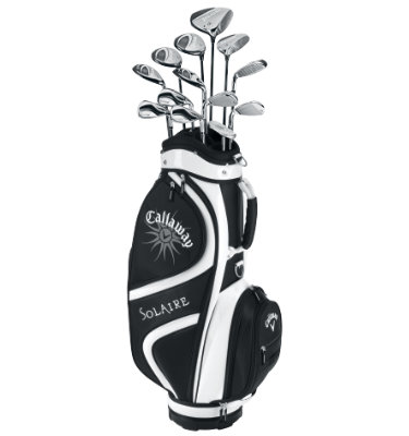 Callaway Women's Solaire 14-Piece Complete Set - Black