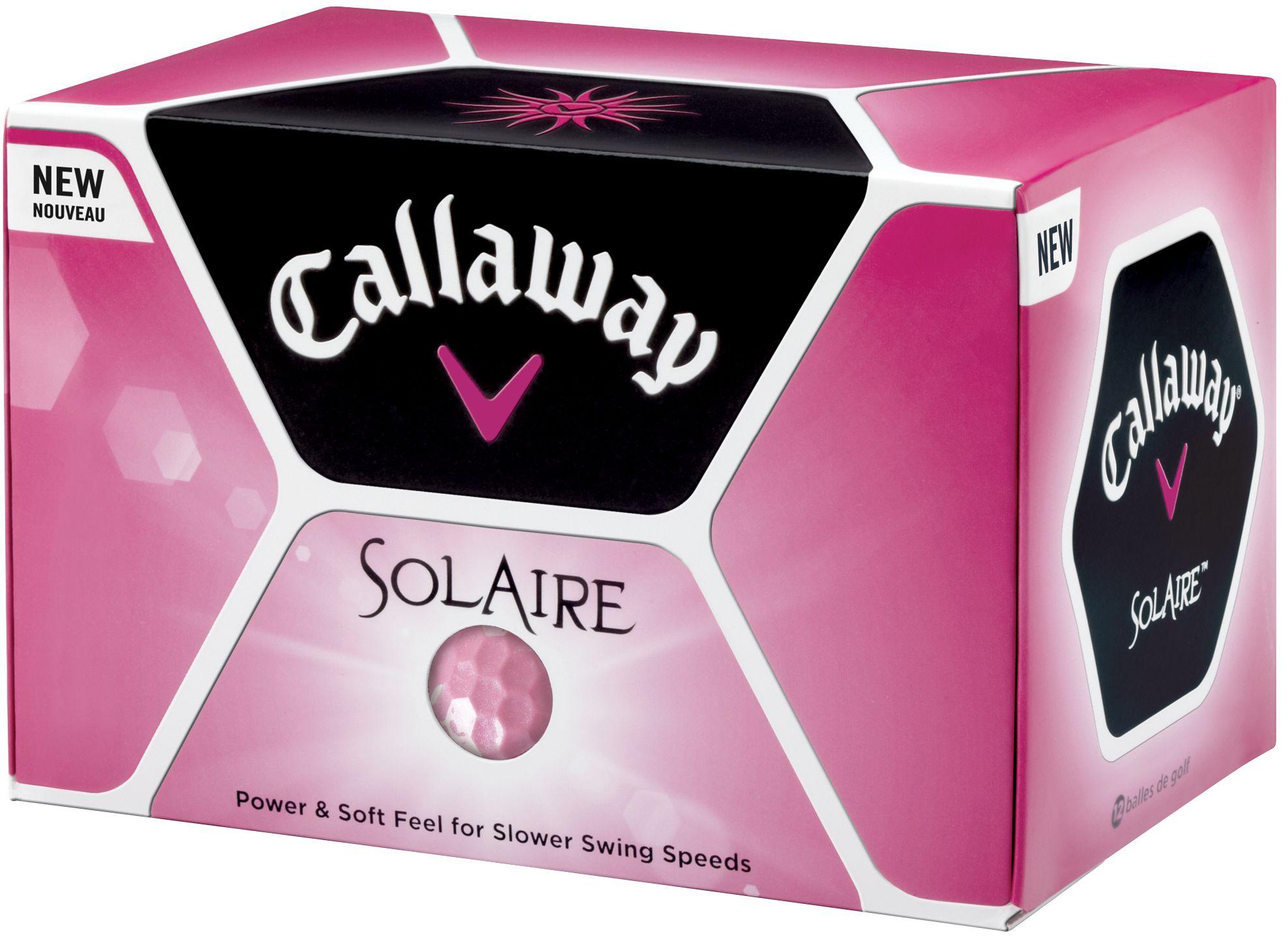 Callaway Women's Solaire Golf Balls 2010  - 12 pack