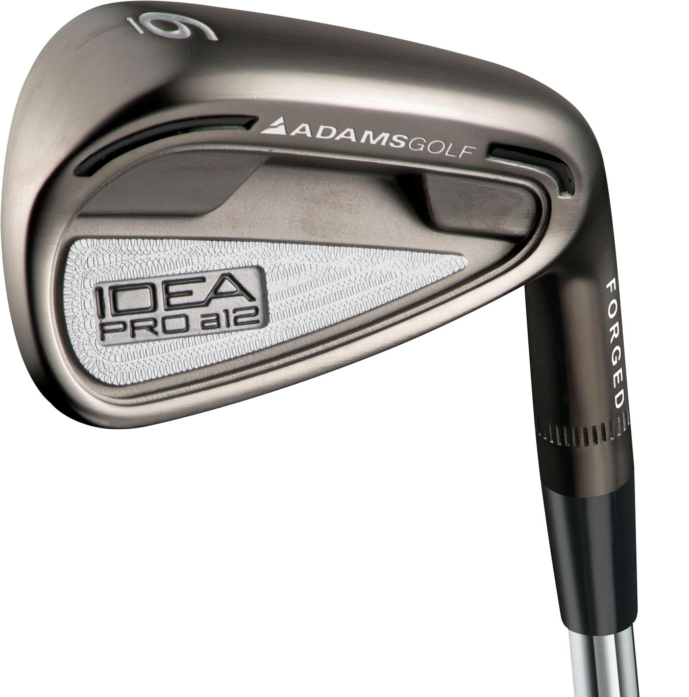 Adams Men's IDEA Pro a12 Irons   4 AW (Graphite)