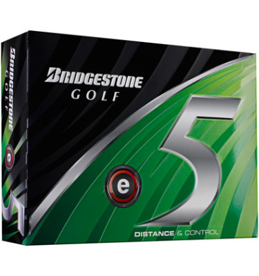 Bridgestone e5 High Flight Golf Balls - 12 pack