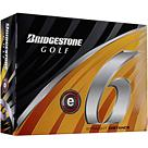 Bridgestone e6 Straight Flight Golf Balls - 12 pack
