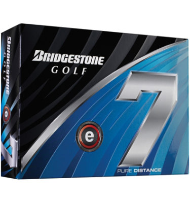 Bridgestone e7 Piercing Flight Golf Balls - 12 pack