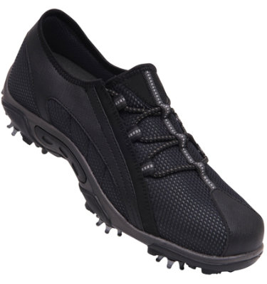FootJoy Women's Summer Series Golf Shoes - Grey/Black (Disc Style 98862)