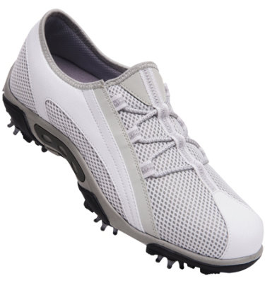FootJoy Women's Summer Series Golf Shoes - White/Cloud(Disc Style 98854)