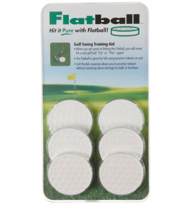 FlatBall Golf Swing Training Aid