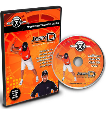 GolfGym Weighted Club DVD