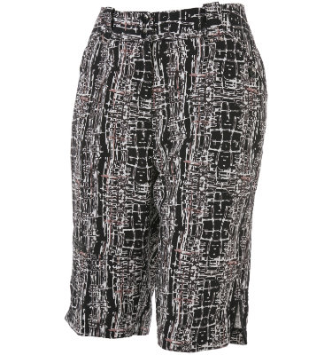 Jamie Sadock Women's Black & White Pattern Short