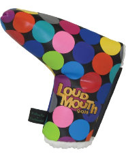 LoudMouth Disco Blade Putter Cover