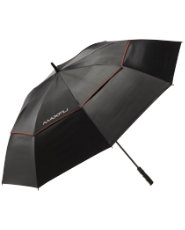 "Maxfli 68"" Double Canopy Gel Handle Umbrella"