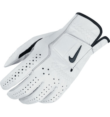Nike Men's Classic Feel Golf Glove - White
