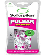 SoftSpikes Pulsar Fast Twist Golf Cleats - Pink
