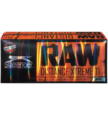 Slazenger RAW Distance Xtreme TI Golf Balls - 24 Pack